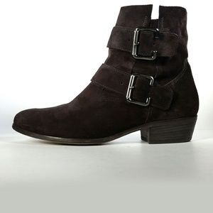 Paul Green Ankle Boos Brown Suede Boots 7